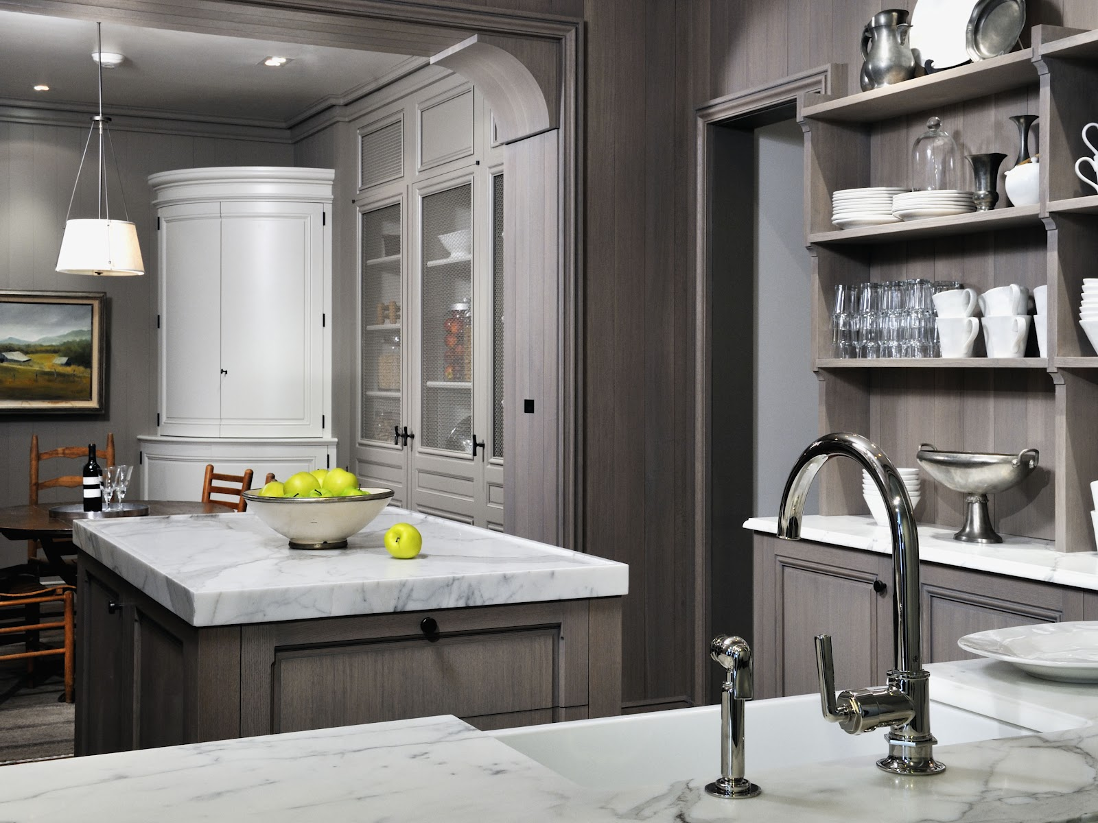Cool Grey Kitchen Cabinets White Superbliances