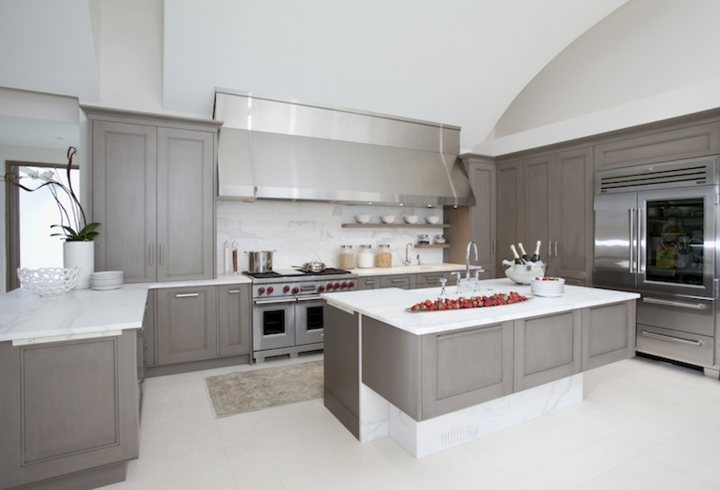 Gallery Of Grey Kitchen Cabinets Inspiration
